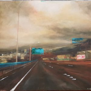 SH1 Wellington Motorway Emma Louise Pratt 2006