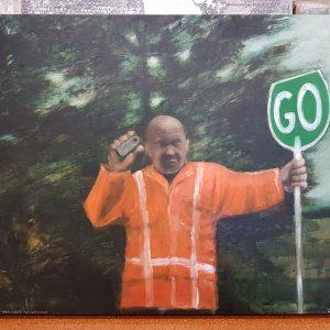Stop Go Men SH1: Waikato Shoulder Widening 2006 Emma Louise Pratt